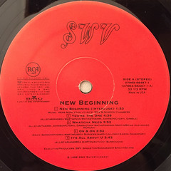 SWV:NEW BEGINNING(LABEL SIDE-A)