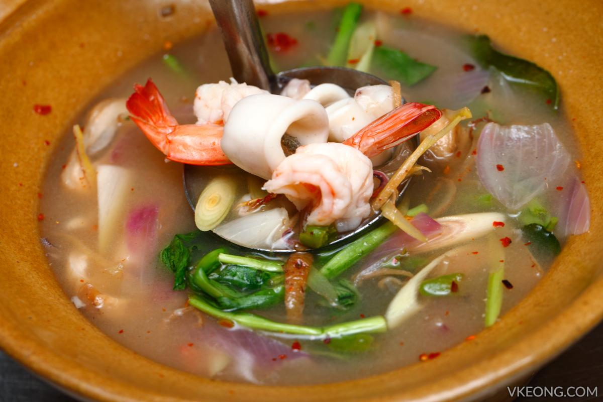 Noi Seafood Spicy Seafood Soup