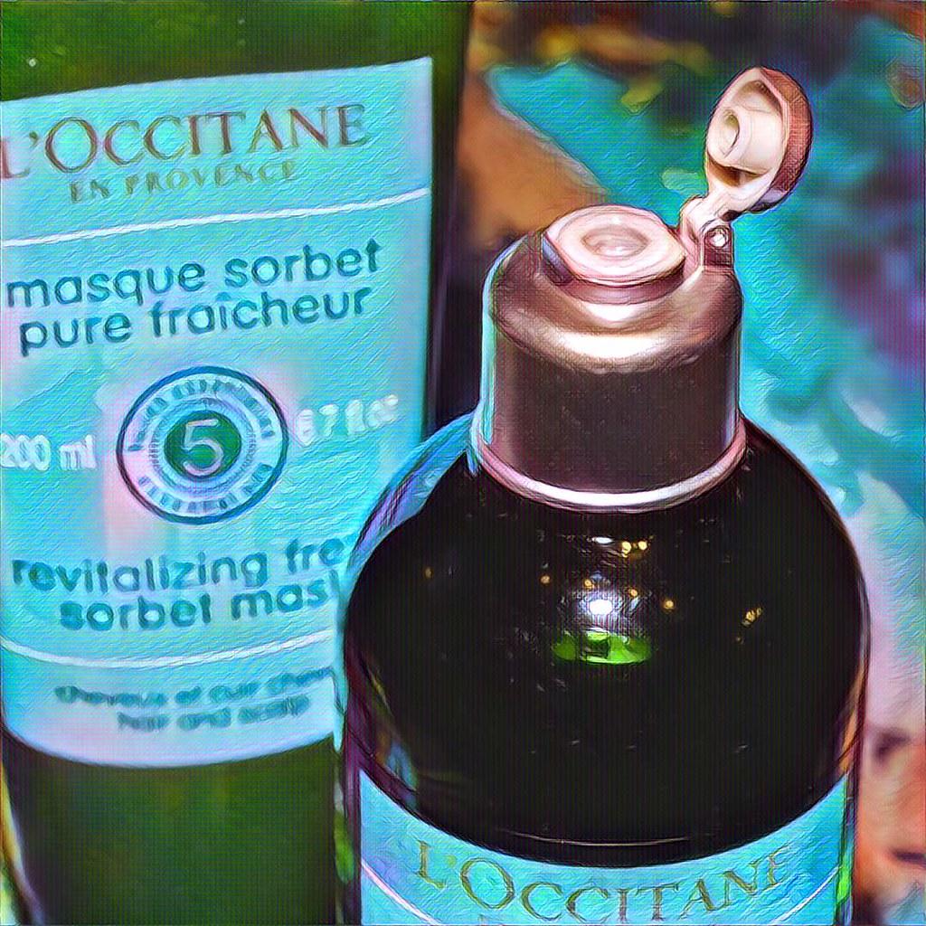Шампунь и маска L'Occitane Аромакология Живительная свежесть - отзыв