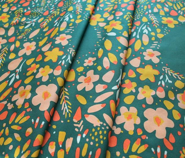 Art Gallery Fabrics Garden Dreamer Love Garden Vibrant