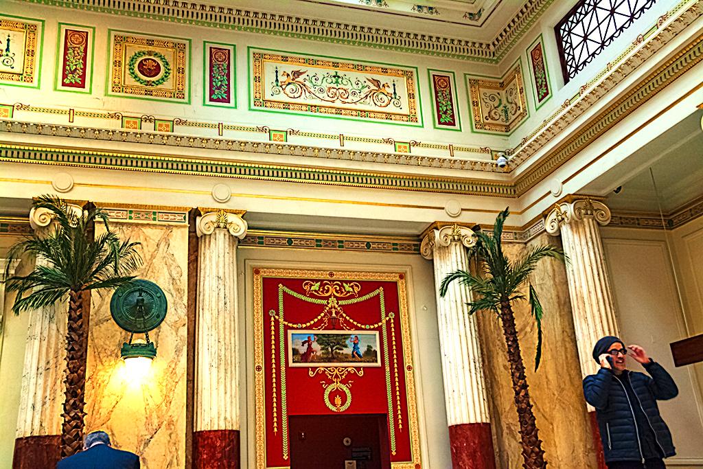Ornate room at Union Station--Washington