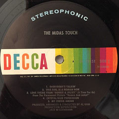 THE MIDAS TOUCH:THE MIDAS TOUCH(LABEL SIDE-B)