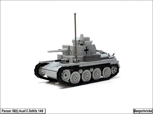 Panzer 38(t) SdKfz 140 Ausf C de Panzerbricks