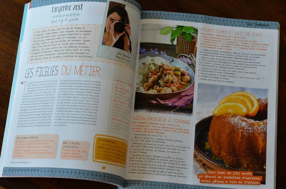 Magazine Saveurs Hors-série Spécial Blogs Culinaires