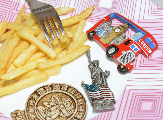 Te comes el viaje, literalmente, con patatas