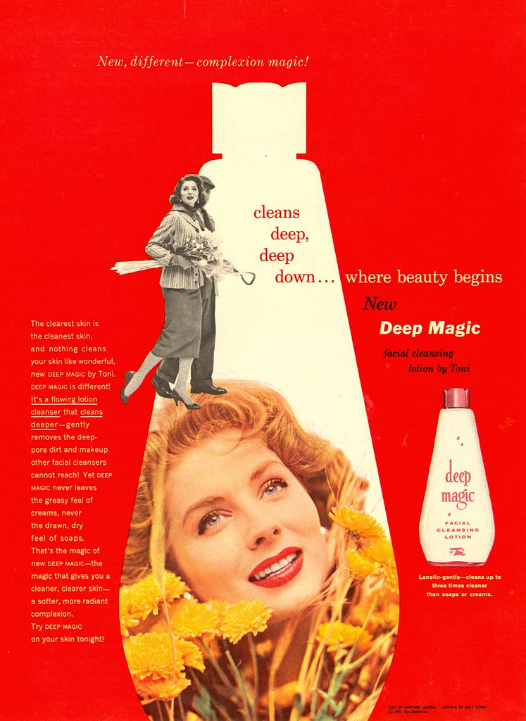 Toni Deep Magic (The Gillette Company) - published in Woman's Day - November 1955