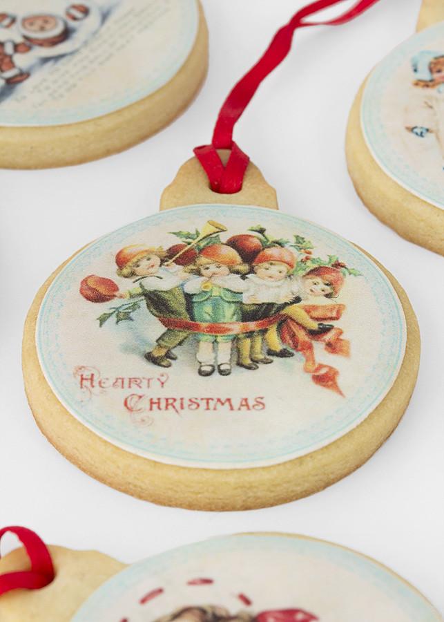 galleta decorada navidad