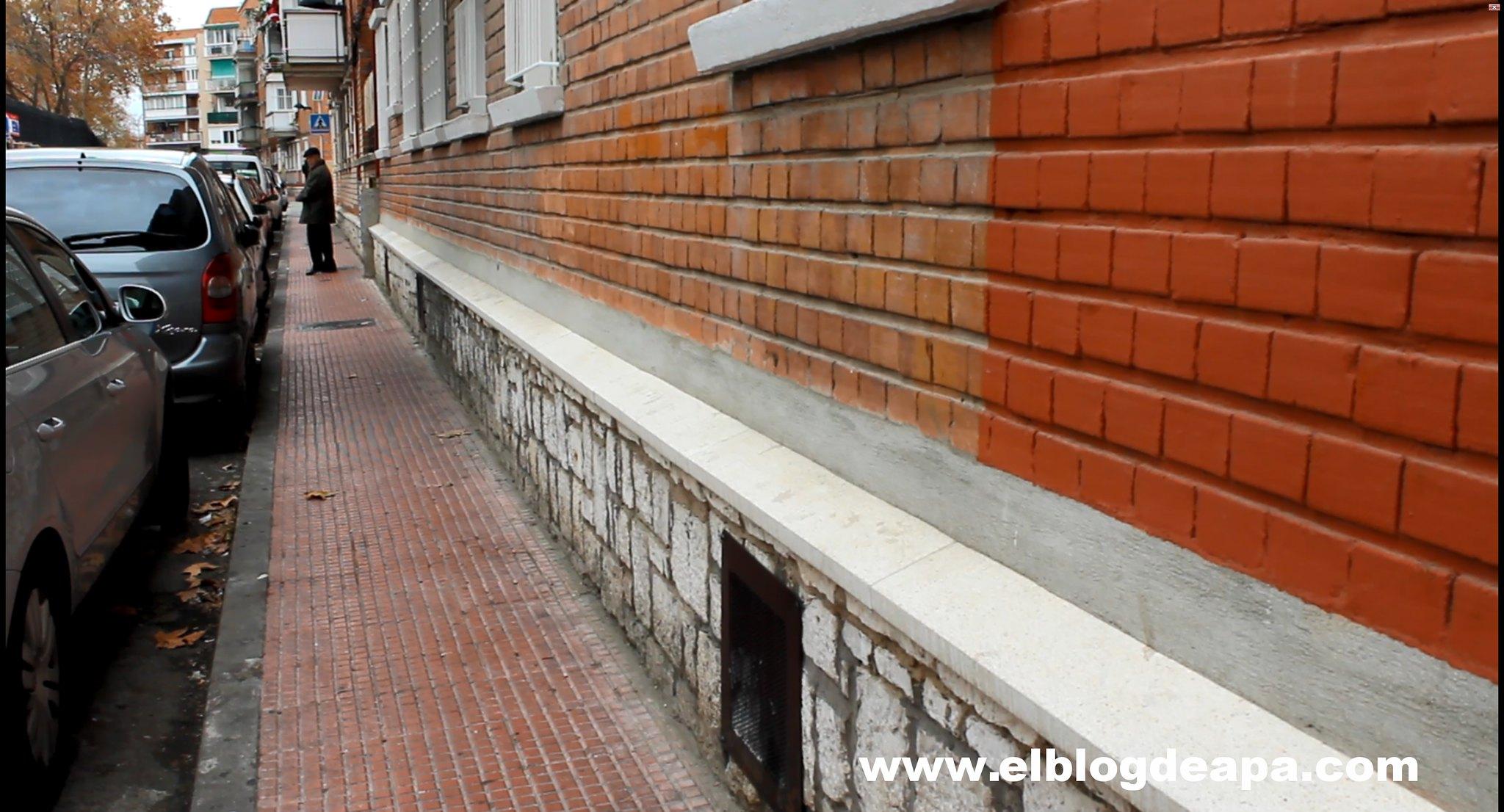 Reparación erosión fachada 2