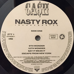 NASTY ROX INC:CA$H(LABEL SIDE-A)