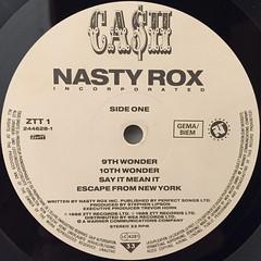 NASTY ROX INC:CA$H(LABEL SIDE-A)