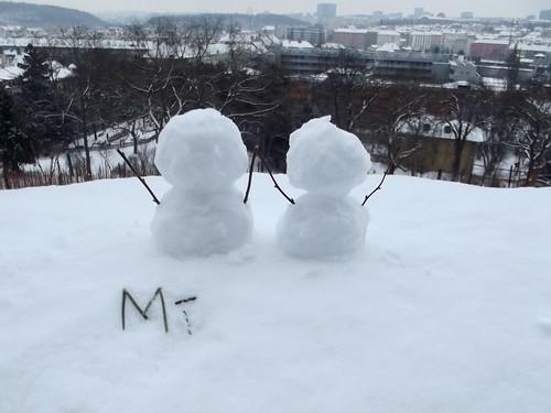 little snowdudes..