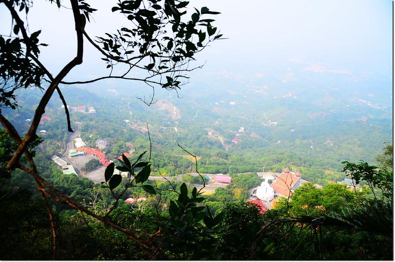 烏山步道俯瞰南化風景區 1