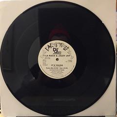 T LA ROCK & JAZZY JAY:IT'S YOURS(RECORD SIDE-B)