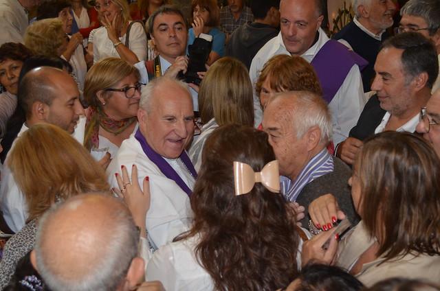 La fiesta de la Iglesia diocesana en Morón
