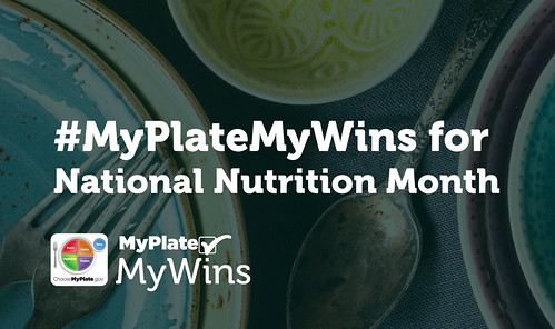 #MyPlateMyWins for National Nutrition Month image