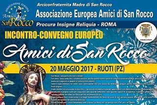 Noicattaro. Locandina Amici di San Rocco front