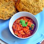 Tomato sabji recipe for chapathi, poori