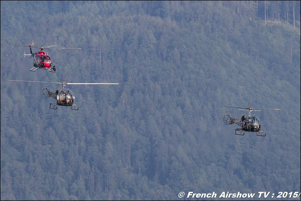 MASH Inszenierung ,Helicopter: Bell - 47 ,MASH Inszenierung der Flying Bulls, Sankt Wolfgang / St Wolfgang : Austria , scalaria air challenge 2015, Meeting Aerien 2015