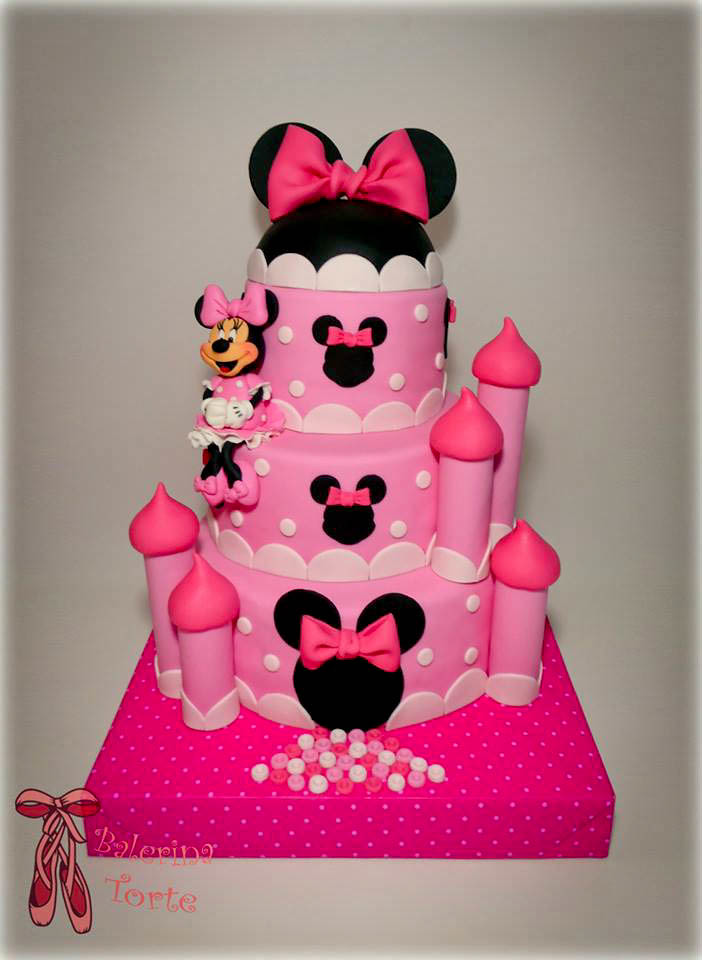 minnie mouse cake mini maus torta by balerina torte jago. Black Bedroom Furniture Sets. Home Design Ideas