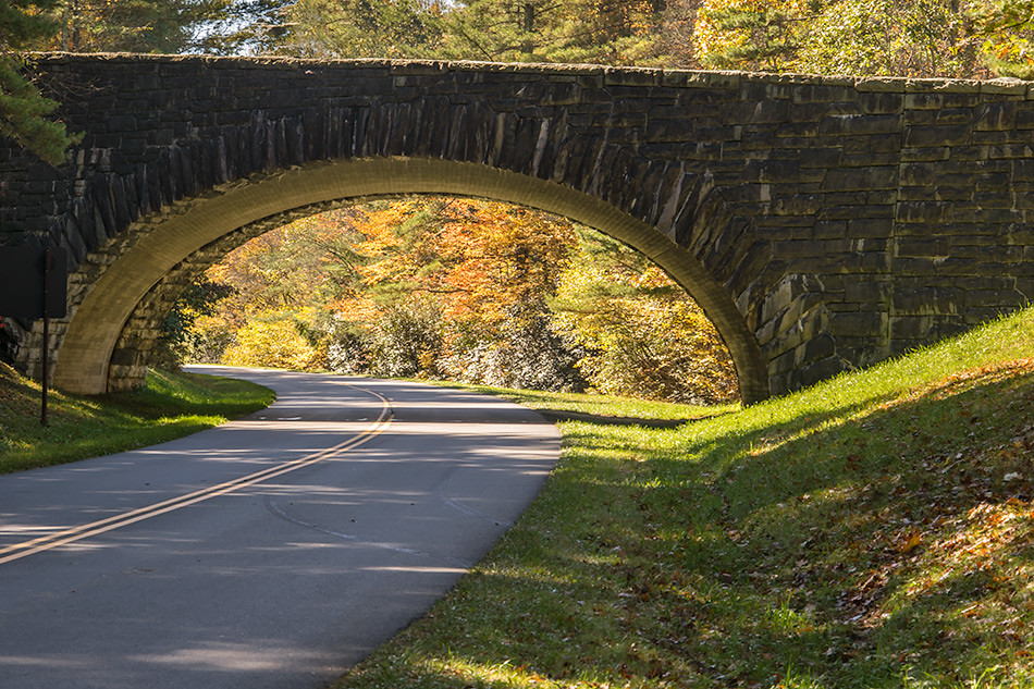 Blue Ridge Parkway, near Blowing Rock, NC