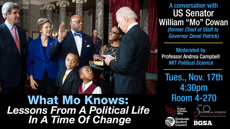 A Conversation with US Senator William
