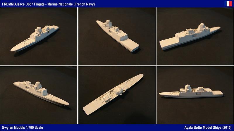 FREMM Alsace D657 ER FREDA AAW Frégate Gwylan Models 1/700 23418861556_b3e811df9b_c