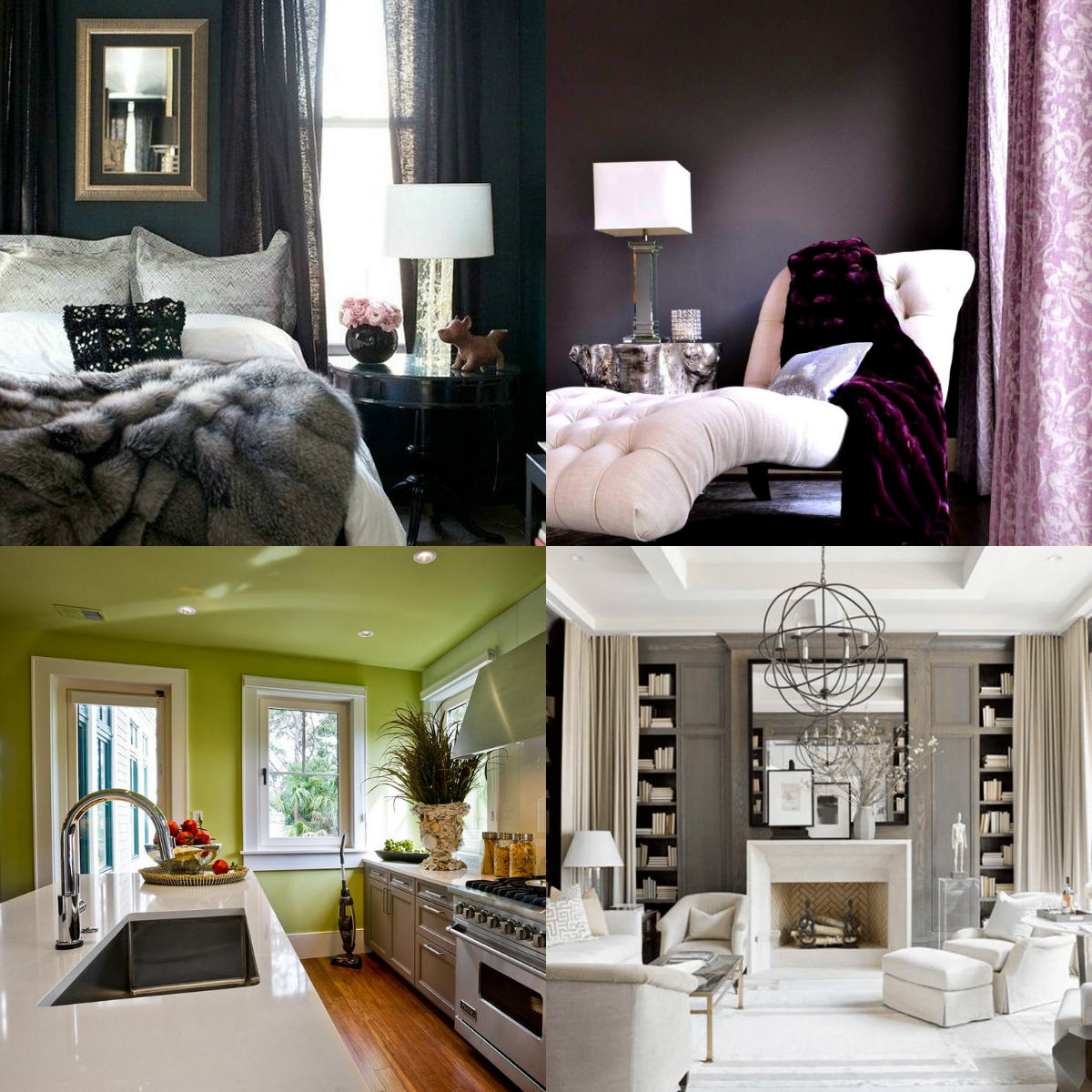 January 2017 Round Up on Living After Midnite | 2017 Colors of the Year Home Decor