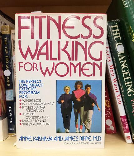 fitness walking for women