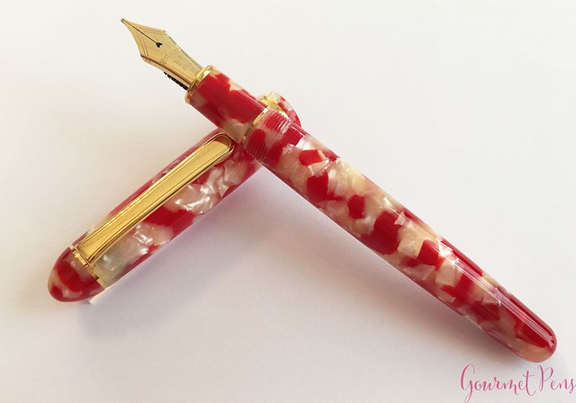 Review Platinum 3776 Celluloid Koi Fountain Pen @AndersonPens @CarolLuxury 14