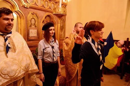 Cercetașii Români Uniți - 10 ani sărbătoriți la București