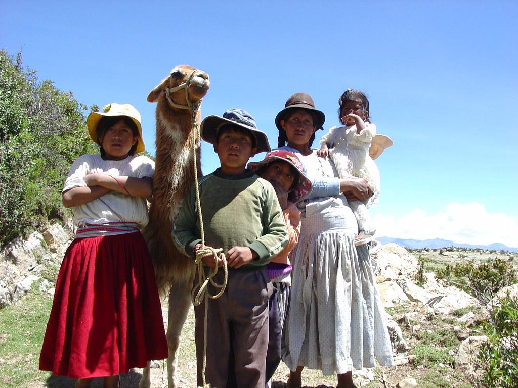 Vagamundos 2004. Bolivia. Copacabana e Isla del Sol