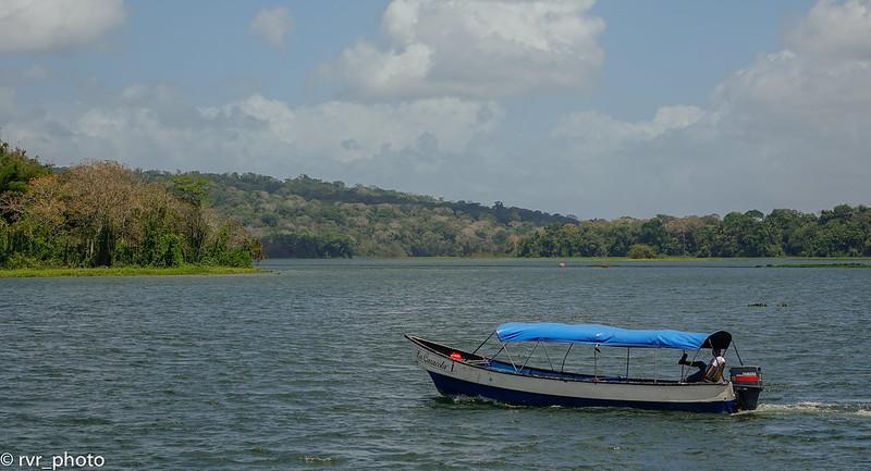 Lago Gatún en Gamboa, Panamá