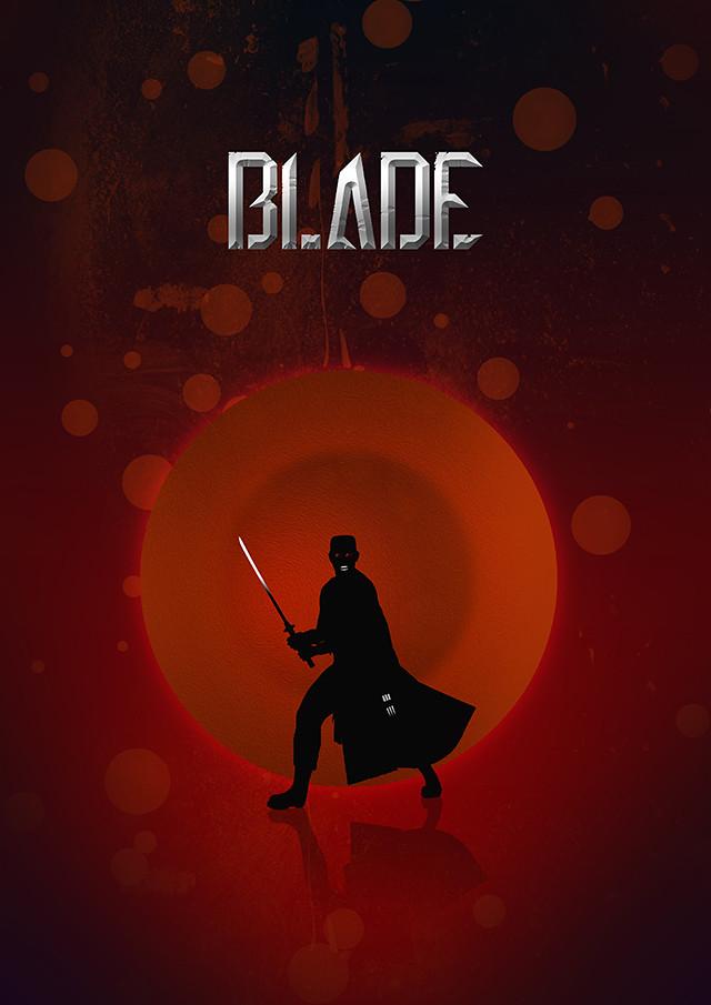 Blade silhouette design