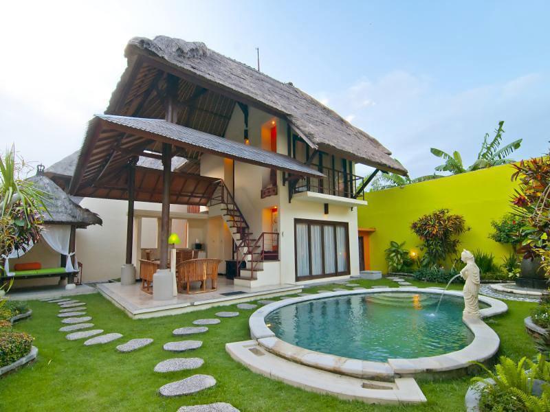 12 vila romantis di bali dengan private pool di bawah rp for Anda garden pool villas