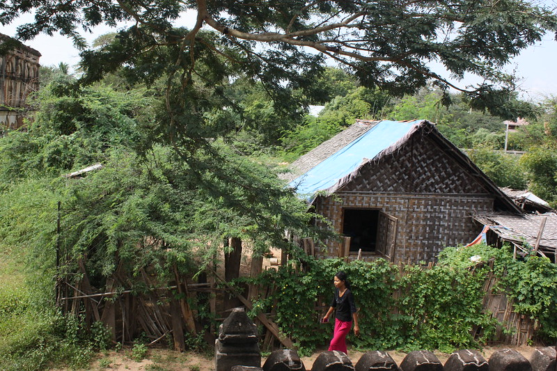 Мьянма, село
