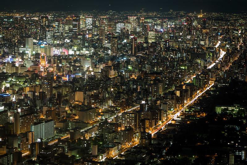 大阪夜景|大阪 Osaka