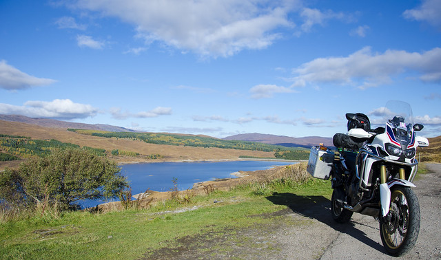 Africa Twin Scotland autumn