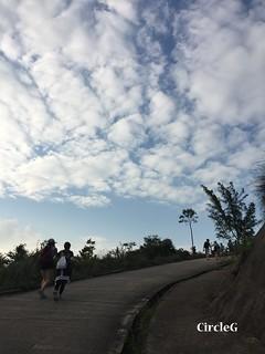 CIRCLEG 遊記 香港 屯門 菠蘿山 良景邨 日落  (30)