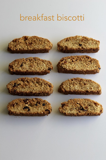 breakfast biscotti