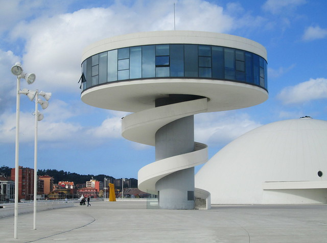 Tower, Oscar Niemeyer International Cultural Centre, Avilés