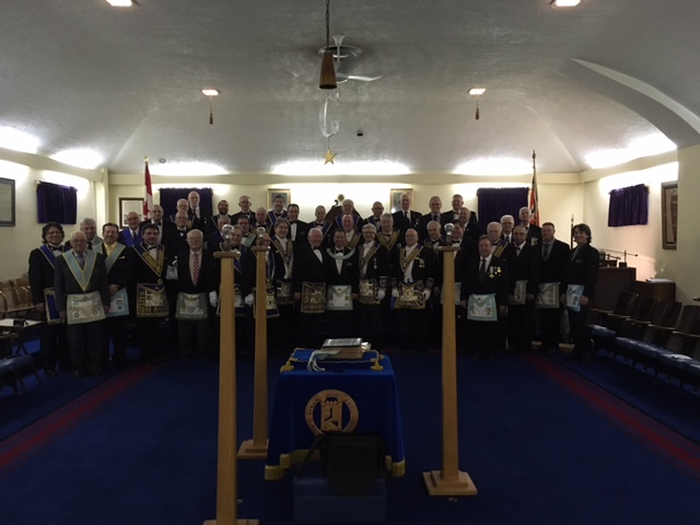2017 01 17 Installation at Waterdown Lodge No. 357