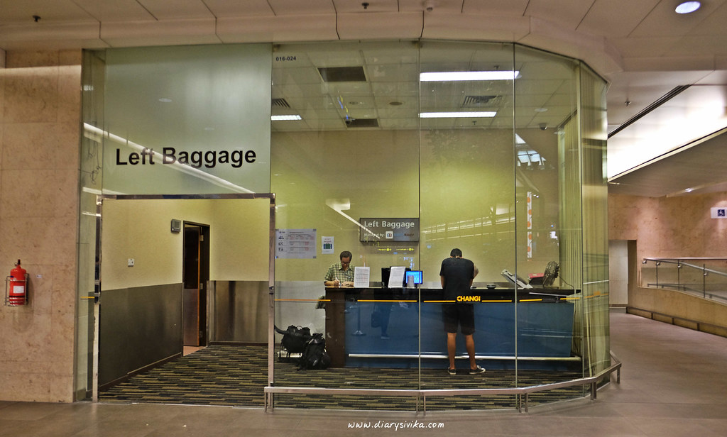 left baggage changi airport