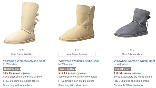 Deal on Women's Boots