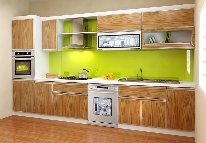 Kuchyň - přírodní dřevo