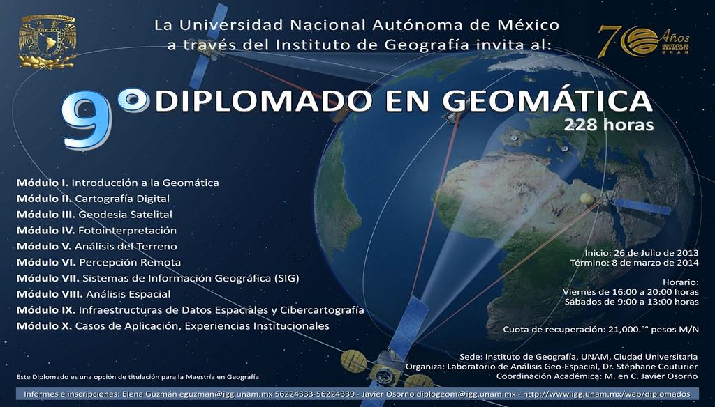 diplo_9_GEOMATICA | Marco Alejandro Romero González | Flickr