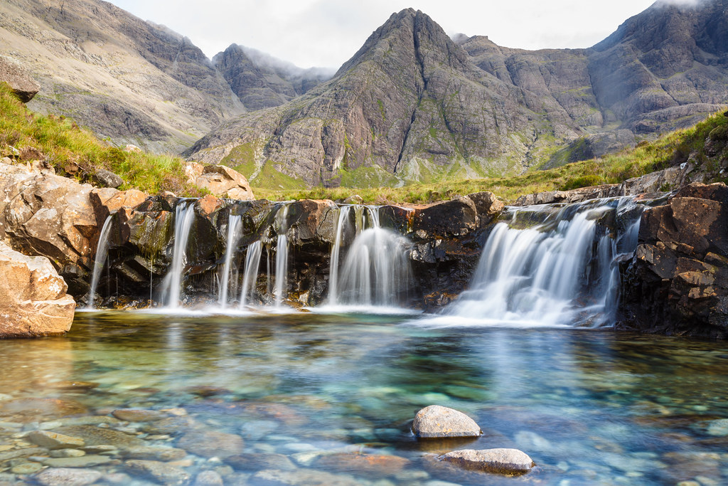 Image result for The Fairy Pools on the Isle of Skye