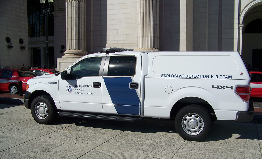 New Ford F150 >> TSA K-9 Truck | US Transportation Security Administration Ex… | Flickr