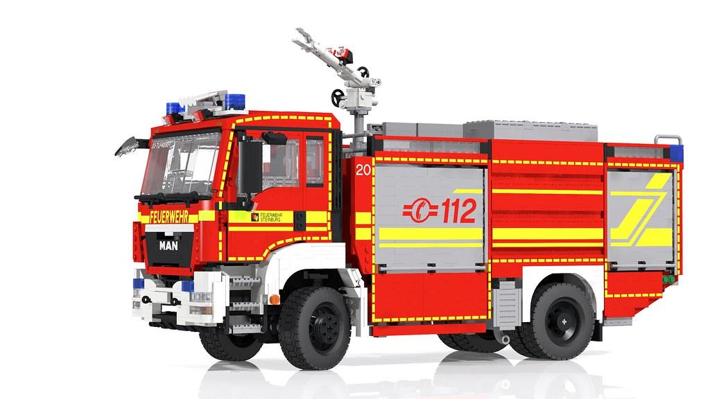 Lego City Feuerwehr Speed Build