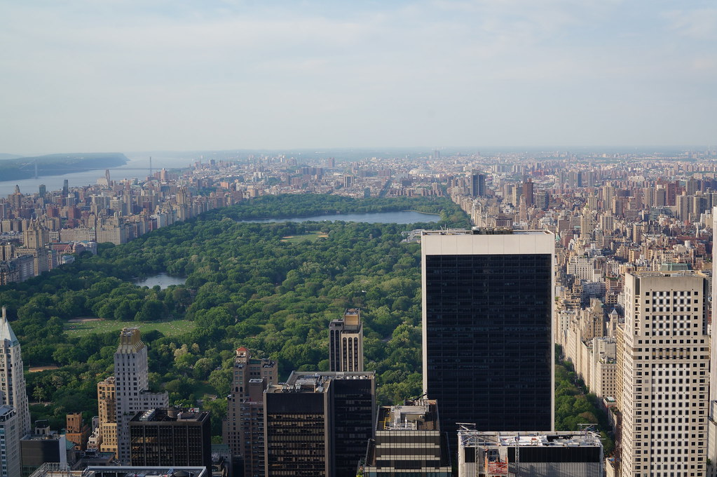 Central Park from Top of the Park, New York City