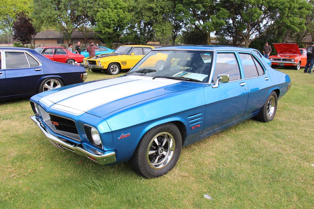 1973 Holden HQ Monaro GTS 308 Sedan Cyan The